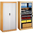 System Storage Tambour Door Cupboards