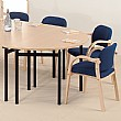 Easyfold� Semi-Circular Table