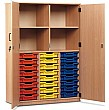 Large Volume Tray Storage Cupboard