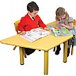 Polyethylene Childrens Tables Trapezoidal