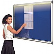 Illuminated Shield� Aluminium Frame Showcases