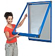 Shield� Coloured Frame Showcases