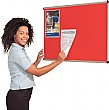 Aluminium Framed Shield Noticeboards