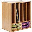 Storage Allsorts Big Book 4 Shallow Jelly Tray Unit