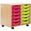 12 Tray Shallow Storage Brights