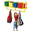 4 Cubby Coat Storage