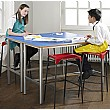 Premium Frame H-Frame Science Lab Table