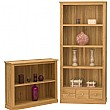 Cavalli Solid Oak Bookcases