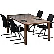 Accent Real Wood Veneer Conference Table