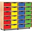 24 Cubby Tray Storage