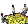 Multiplication Grid Carpet
