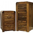 Hampshire Solid Walnut Filing Cabinets