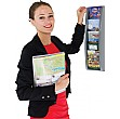 1/3 A4 Four Pocket Wall Mounted Leaflet Dispenser