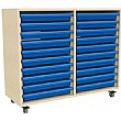 20 Tray Mobile Art & Paper Storage Unit