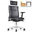 BN Kubik Leather Executive Chair With Headrest