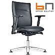 BN Kubik Leather Swivel Conference Chair
