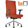Diplomat Premium Fabric Executive Chair Orange