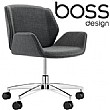 Boss Design Kruze Meeting Chair With Five Star Bas