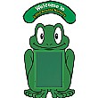 WeatherShield Sign - Frog