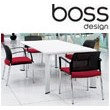 Boss Design Apollo Rectangular Boardroom Table