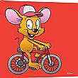 Pin Panelz Primary Graphics Monty Mouse