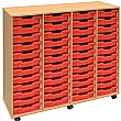 4 Store 48 Tray Shallow Storage Unit