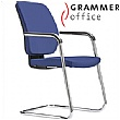 Grammer Office GLOBEline Fabric Cantilever Side Chair