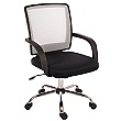 Twist Mesh Back Executive Operator Chair White