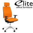 Elite Match Upholstered Task Chair Headrest & Arms