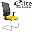 Elite Mix Chrome Frame Meeting Chair Arms