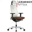 Grammer Office GLOBEline Mesh & Leather Executive Chair