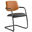 Theo Fabric & Mesh Cantilever Conference Chair