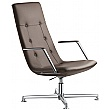 Sky Classic Leather Executive Rocking Relaxation Chair
