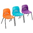 Pepperpot Education Stacking Chairs