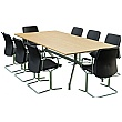 Sven Ambus Rectangular Oak Conference Table