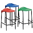 Scholar Polypropylene Low Back Stools