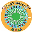 Flag Match Africa Sign