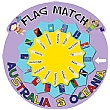 Flag Match Australia & Oceania Sign