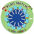 Flag Match South America Sign