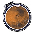 Planet Mars Sign
