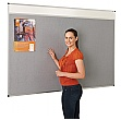 Themeboard Aluminium Framed Felt Noticeboard