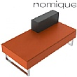 Nomique Chicago Modular 2 Seater Half Back Reception Bench