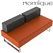 Nomique Chicago Modular Split Back 2 Seater Sofa Without Arms