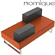 Nomique Chicago Modular Mirrored Straight Seating Unit