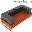 Nomique Chicago Modular Split Back Sofa With Arms