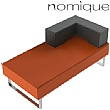 Nomique Chicago Modular 2 Seater Half Back Corner