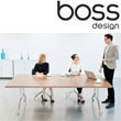 Boss Design Deploy Deluxe Rectangular Boardroom Ta