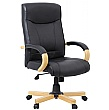 Farnham Executive Black Leather Manager Chair