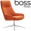 Boss Design Marnie High Back Swivel Lounge Chair