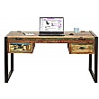 Accrington Reclaimed Wood Computer Desk